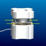 Diagram - Inserting Seating Ring for Barron Vacuum Donor Cornea Punch